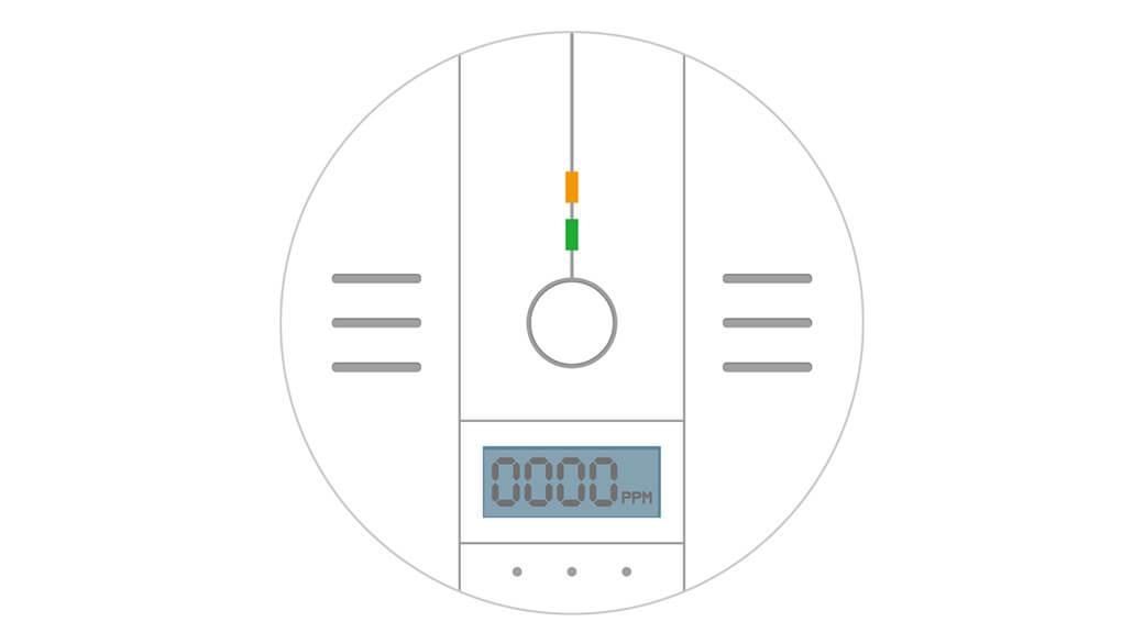 一酸化炭素警報器